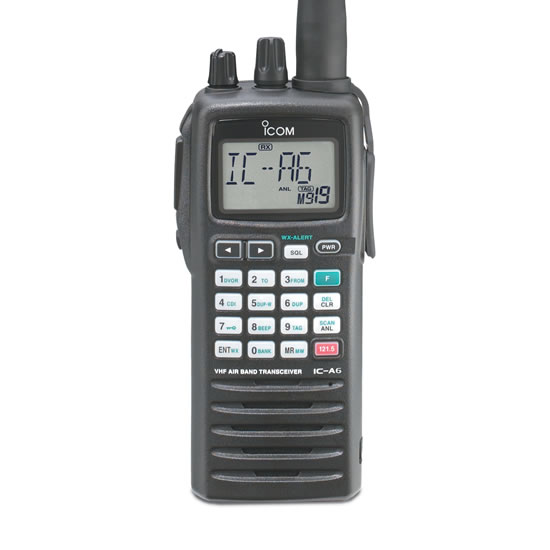 A24 VHF Air Band Transceiver - Features - Icom America
