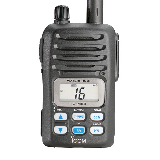 457.M88_1 m88 vhf marine transceiver options icom america  at reclaimingppi.co