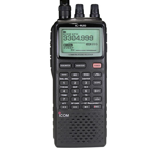 IC-RCommunications Receiver - Features - Icom America