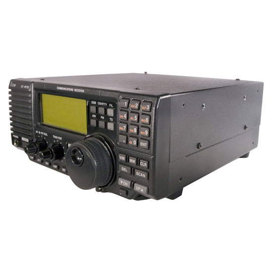 IC-R75 HF+50 MHz All mode Communcations Receiver - Features - Icom