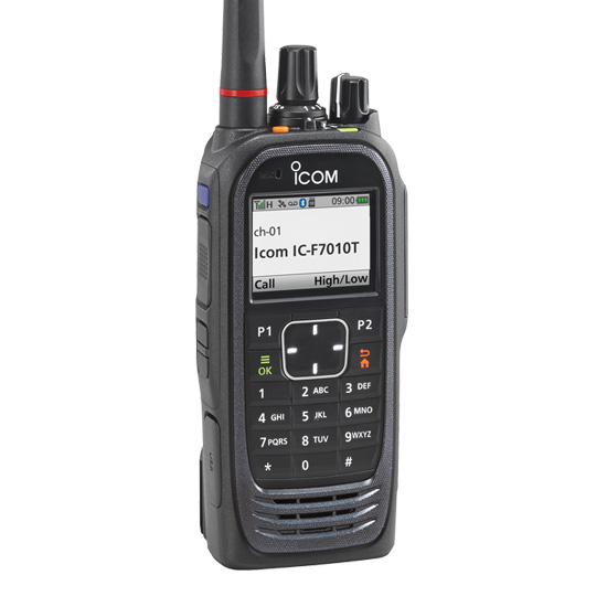 F7000 Series P25 Portables Features Icom America
