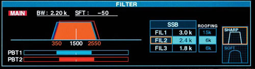Filter Preset Screen