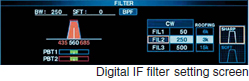 Digital IF filter