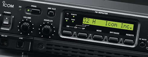 IC-FR3000 Series VHF and UHF FM Repeaters - Features - Icom