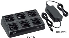 bc197 multiple charger