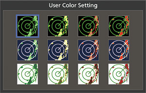 User Color Settings