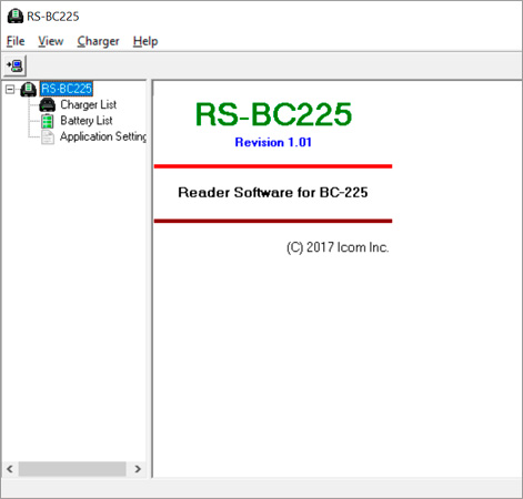 RS-BC225 battery management software