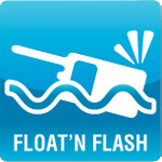 Float'n Flash marine radio technology by Icom