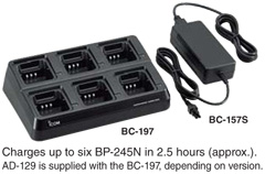 Multi-Charger BC-197 and BC157S