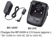 Rapid Charger - BC-210 and BC-123S