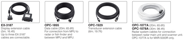 MarineCommander Option Cables