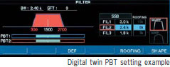 Digital twin PBT seting example