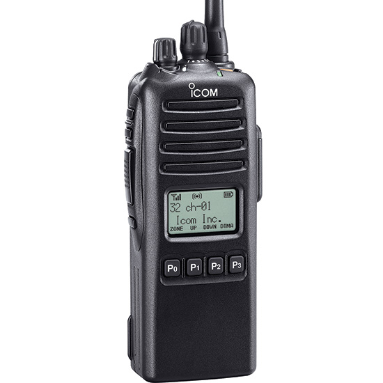 F70D / F80D P25 Conventional UHF/VHF Portables - Features - Icom America