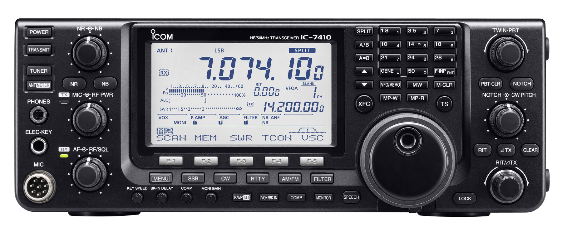 IC-7410 HF/50MHz Transceiver - Features - Icom America