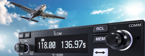 A220 Vhf Air Band Transceiver Features Icom America