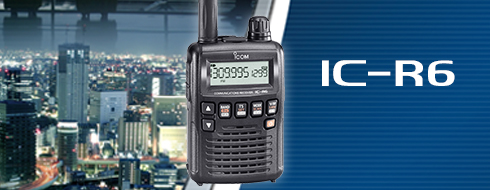 IC-R6 Communications Receiver - Features - Icom America